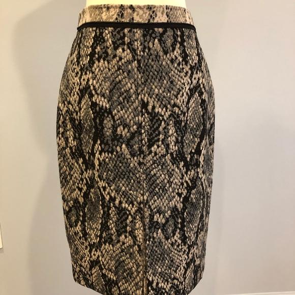 66cb7f9848d1f Elie Tahari Skirts | Snakeskin Design Skirt | Poshmark
